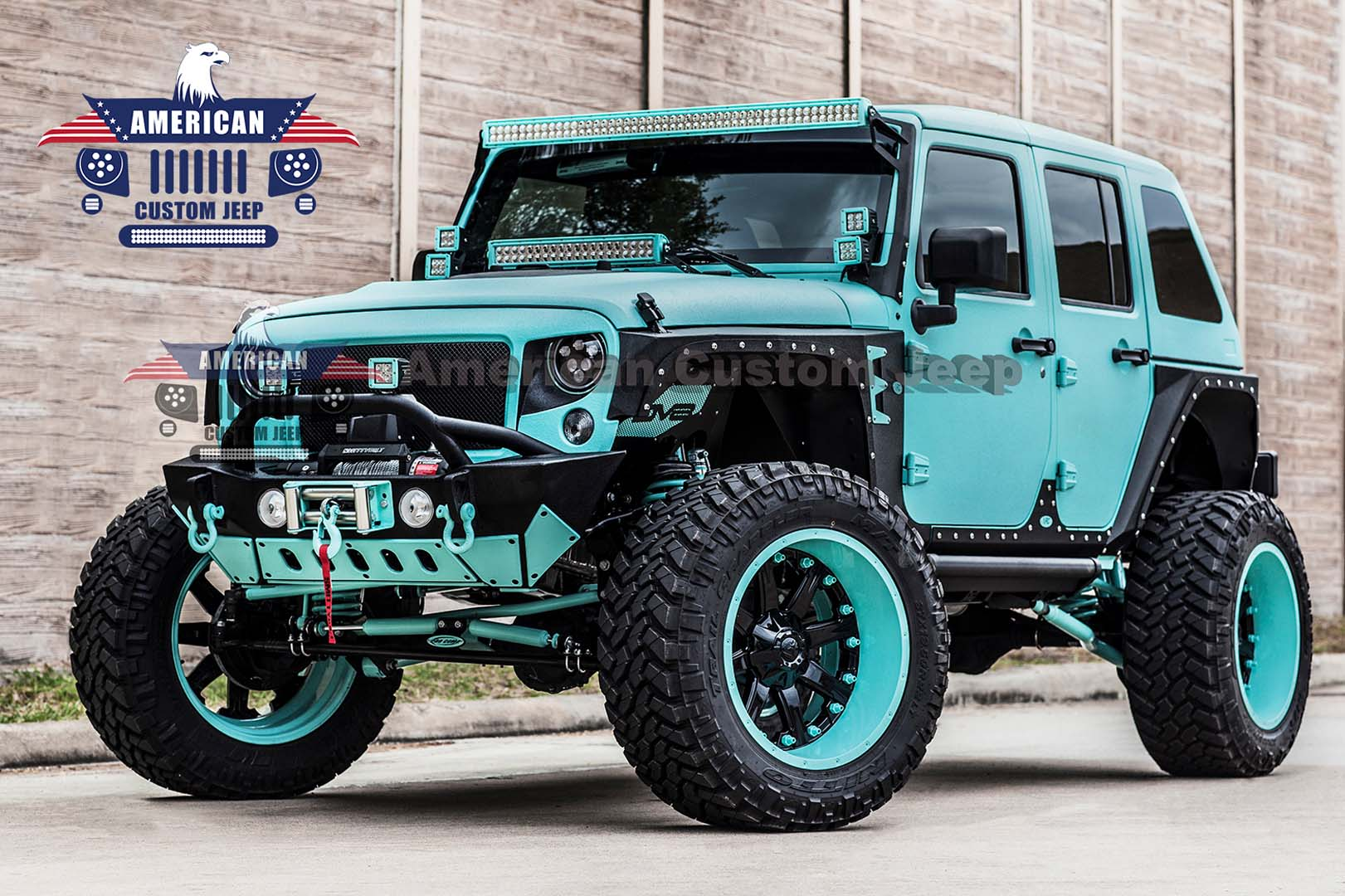 JEEP JK CUSTOM KEVLAR TIFFANY
